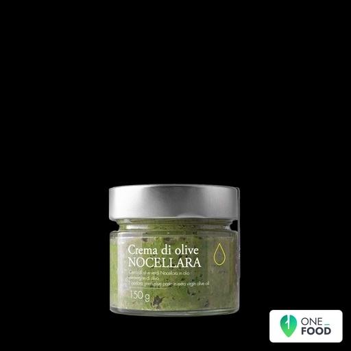 Nocellara Oliven Creme In Olivenol